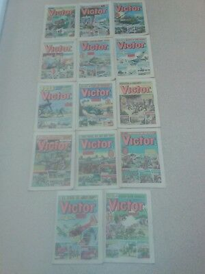 Victor comics, x 25, 1979, VG+ condition for age.