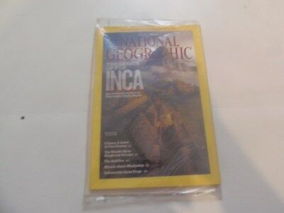 National Geographic - The Genius Of The Inca -  April 2011 - Still Sealed