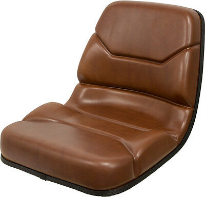 Case Backhoe Seat in Brown Replaces OEM# B94116 for 580C 580D 580E 580K 580L etc