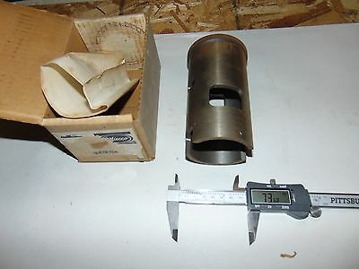Nos Snowmobile Wiseco Flanged Sleeve Cylinder 63.25mm Id, 73.68mm OD