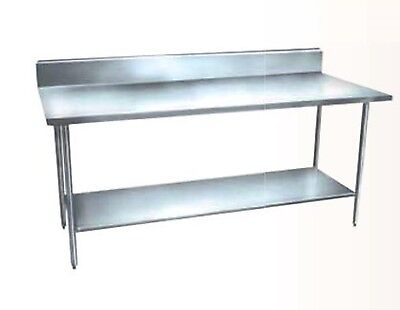 Winholt 60x24 food preparation Stainless steel table DTSB-2460H