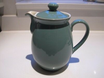 Vintage Denby Stoneware Manor Green Coffee Pot (2.5Pint).Free post