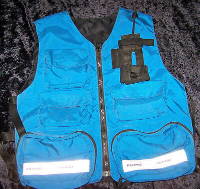 Deluxe Ferno Reflective EMT/EMS  Vest with TONS of Pockets & Storage!!