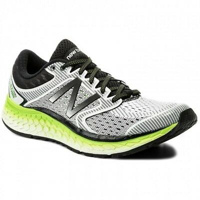 Men's New Balance M1080WB7 Running Shoes - White/Green/Black - NIB!
