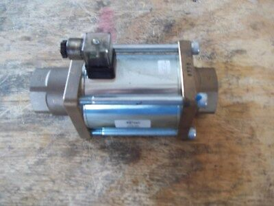 "NEW CX-TEC (CO-AX) CXD 25 /  2-WAY COAXIAL VALVE / 1"" NPT / 0-600 psi / 24vdc"