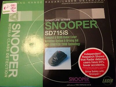 Snooper SD715is Speed Camera Radar Detector
