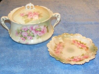Antique Bowl And Saucer