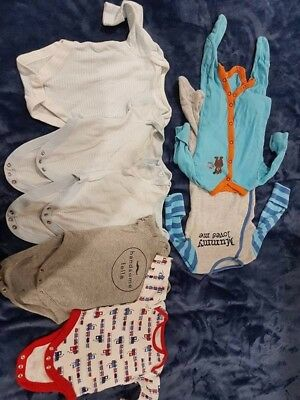 Baby boys clothes 0-3 month used and new M&S GAP Jonh Lewish