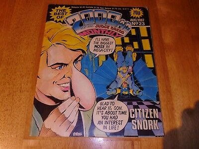 The Best of 2000 AD Monthly Ft Judge Dredd AUG' 1987 No 23