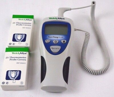 Welch Allyn SureTemp Plus Thermometer Model 692 - Probe Covers Included