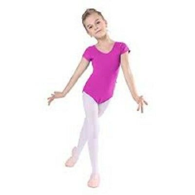 iMucci Girl's Velvet Footed Ballet Dance Tights 1pc, Pink, Size:S # G