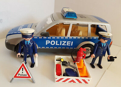 playmobil 4259 polizeiauto mit blinklicht eur 12 60. Black Bedroom Furniture Sets. Home Design Ideas