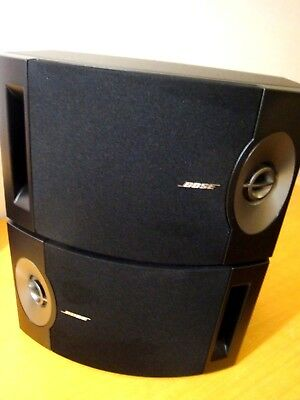 2 x Bose 201 Series V Haupt-/Stereolautsprecher / BLACK / TOP ! #SB