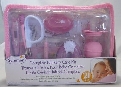 Summer Infant Complete Nursery Care Kit Pink and White Health and Grooming