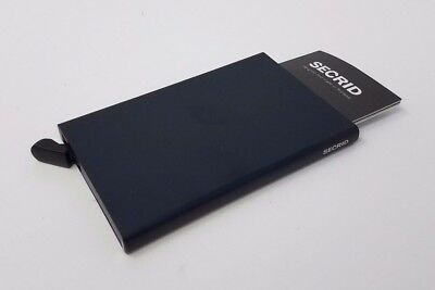 SECRID Card Protector Black RFID Secured Card Protector Made in Holland