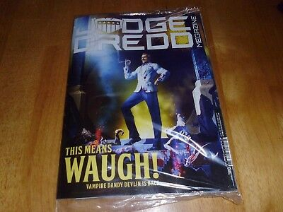 Judge Dredd Megazine #388 17th OCT'  2017: This Means Waugh! NEW & SEALED