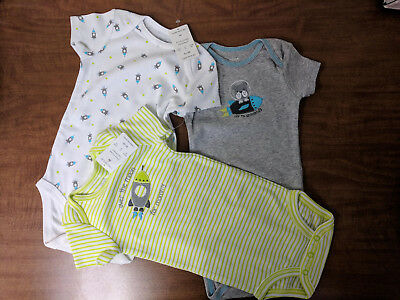 3 Pack, Just One You By Carter's 9mo Bodysuits NEW with tags