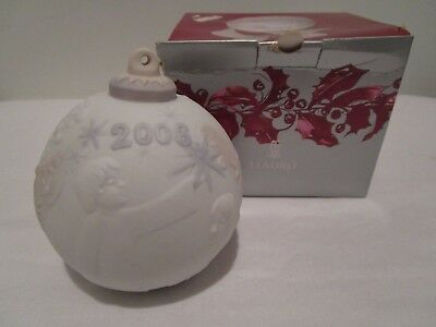 """2006 Lladro Porcelain Christmas Ball """"Catching The Christmas Star"""" MINT"""