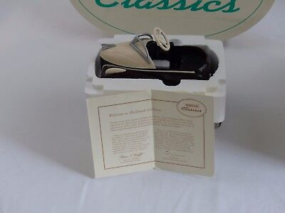 HALLMARK KIDDIE CAR CLASSICS 1939 STEELCRAFT LINCOLN ZEPHYR by MURRAY DIE CAST