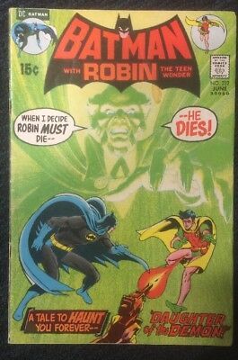 Batman #232 (Jun 1971, DC) First Appearance of Ra's al Ghul