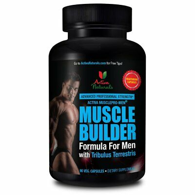 Muscle Builder Formula For Men - Efficiently Gain Muscles by Activa Naturals