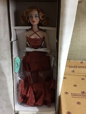 """The Ashton-Drake Galleries,""""Dance With Me"""" Gene Doll Collection."""
