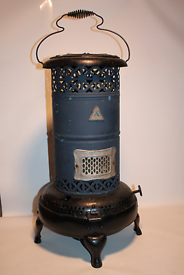 Vintage Perfection Smokeless Oil Heater #330 Made In Usa, With Tank & Coil Handl