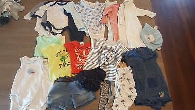 newborn baby boy clothes 000 bundle seed marquise target jack & Milly