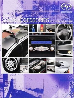 2006 06 Scion Accessories   XB, XA & SC Sales brochure MINT