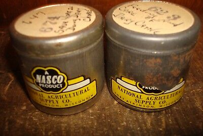 Vintage Nasco Agricultural Supply Company Dairy Cow Film & Canisters