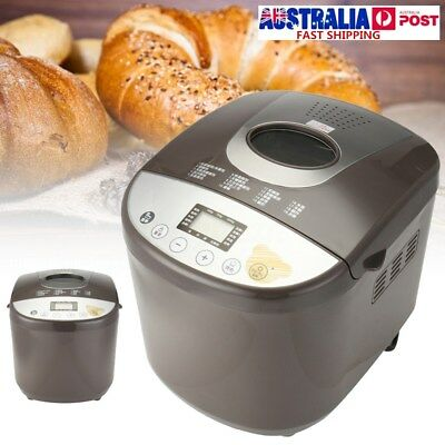 220v Stainless Steel Electric Bread Maker Machine Programmable Home Kitchen 650w
