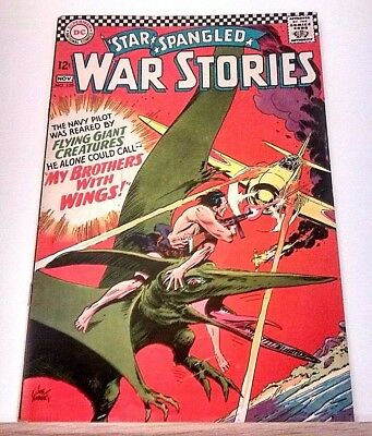 Star Spangled War Stories #129 Dc Comics 1966 Silver Age Big Collection Listed