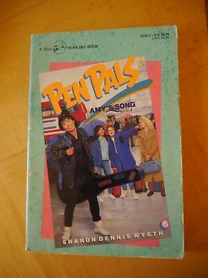 Pen Pals Books #6, #7, #8, #11 by Sharon Dennis Wyeth