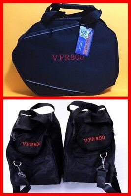 Bestem LGHO-VRF8H-SDL Black Saddlebag Sideliners for Honda VFR800 (One Pair) NWT