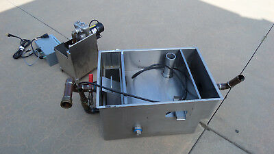 Goslyn 10 GPM All Stainless Automatic Grease Recovery Device GOS-40