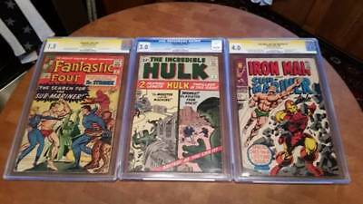 (3) Rare Comics! (2) Signed by the Great Stan Lee... LOOK!!!