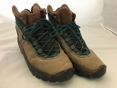 free shipping 09e5c cfe05 NIKE ACG 9 42.5 MID MEN S HIKING BOOTS BROWN TORQUIOSE ...