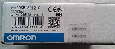 OMRON safety relay G9SB-3012-C Brand NEW IN BOX G9SB3012C
