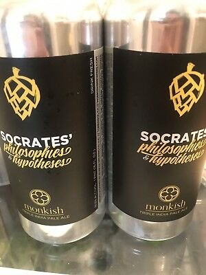 Monkish Brewing Company Socrates' Philosophies And Hypotheses & Change The Beat