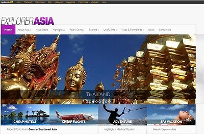 South East Asia Travel websites for sale 10 sites in total !