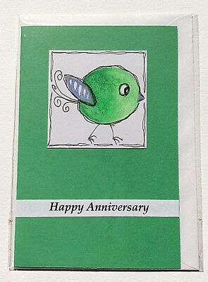 Blank Handmade Anniversary Card, Max $2 Postage For Any Number of Cards