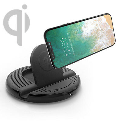 qi auto halter kfz handyhalter wireless charger. Black Bedroom Furniture Sets. Home Design Ideas