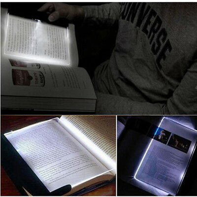 1PC New Portable LED Read Panel Light Book Reading Lamp Night Vision For Travel