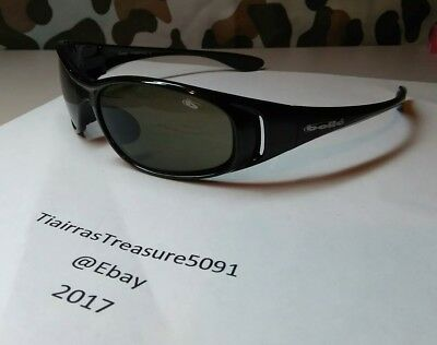 Bolle Sunglasses Conga Black Made In France AUTHENTIC