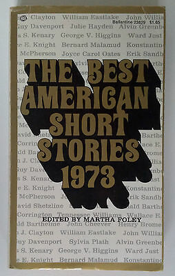 The Best American Short Stories 1973