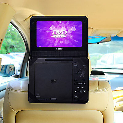NEW  For 9 inch Standard Portable DVD Player Car Headrest Mount Holder