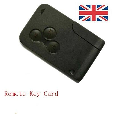 renault megane scenic clio 3 button remote key card brand. Black Bedroom Furniture Sets. Home Design Ideas