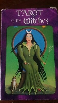 AGMULLER-TAROT of the WITCHES del 1974 mai usati
