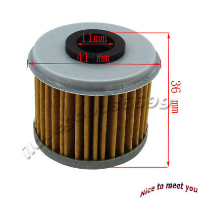Oil Filter For Honda CRF150F CRF450R CRF250R CRF250X CRF150RB TRX450R Dirt ATV