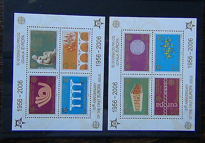 Serbia & Montenegro 2005 50th Anniversary of Europa Stamps Miniature Sheet MNH